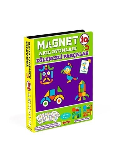 Bunjoy Magnetiq Akıl Oyunları -Eğlenceli Parçalar (Diy-Toy Yayınları) Renkli